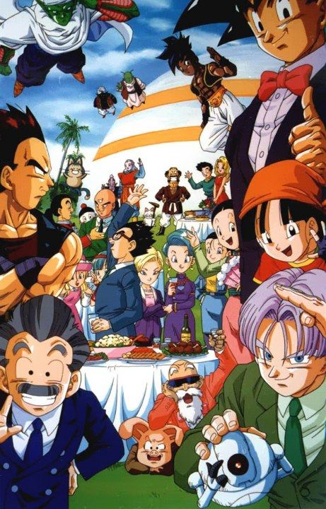 Dragon ball gt visual 2