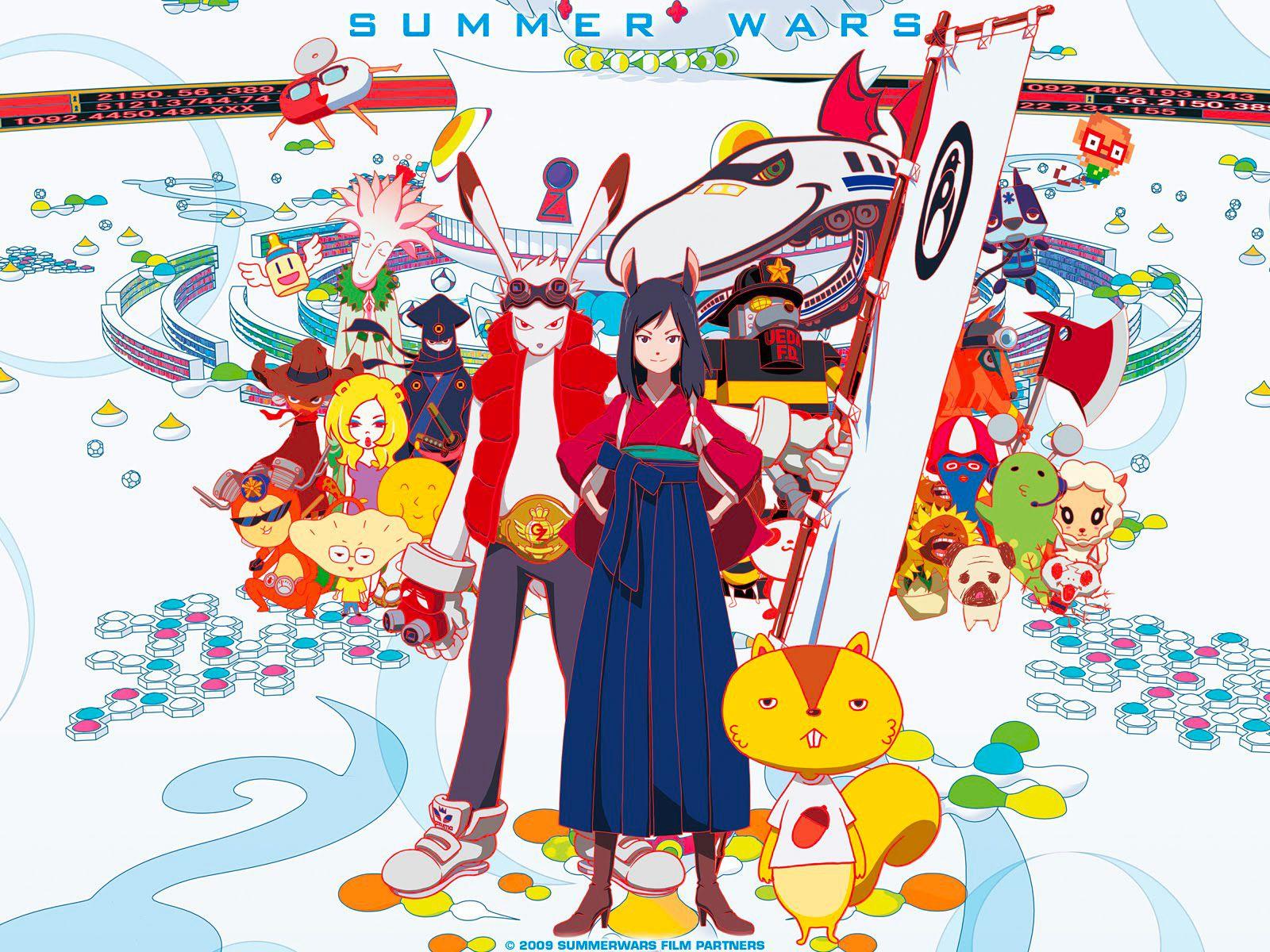 Summer wars visual 3