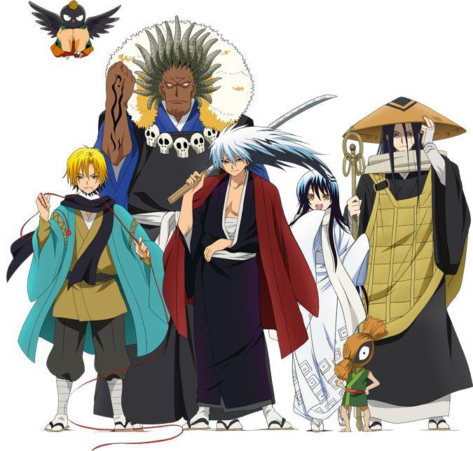 Nura seigneur yokai anime 1