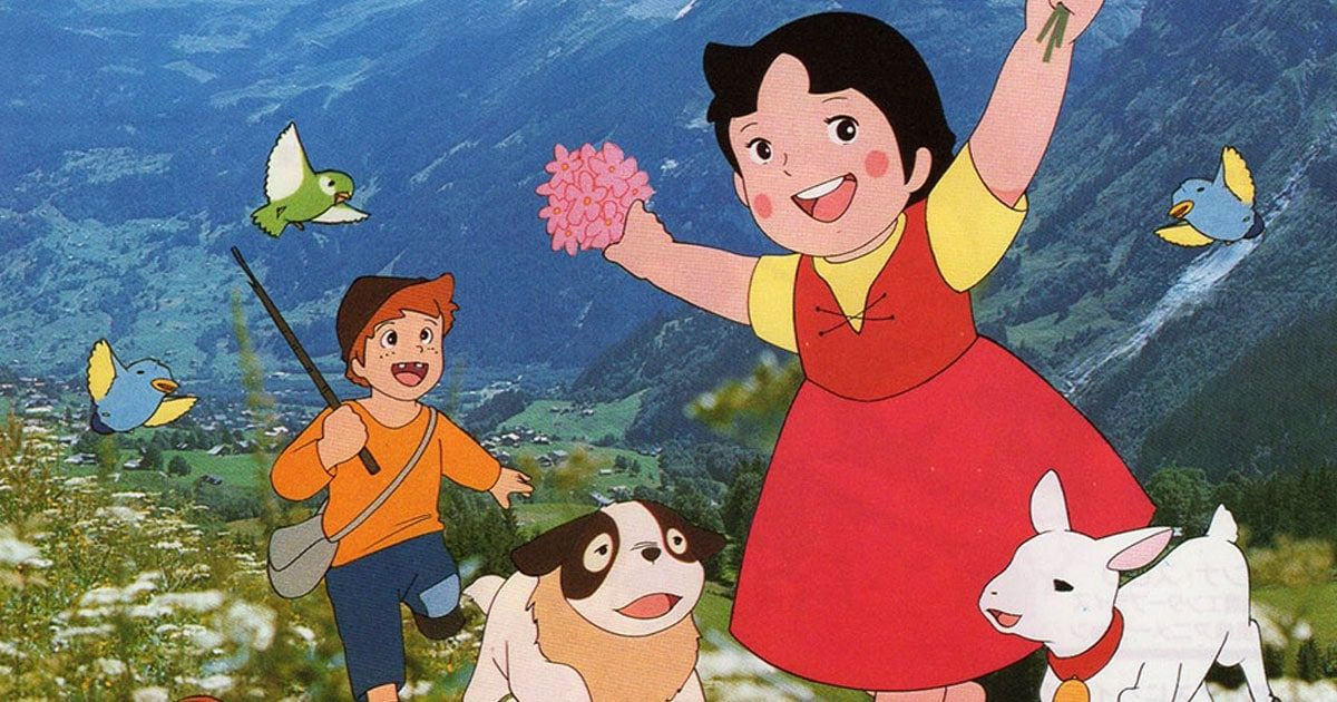 Heidi anime nippon animation visual 2