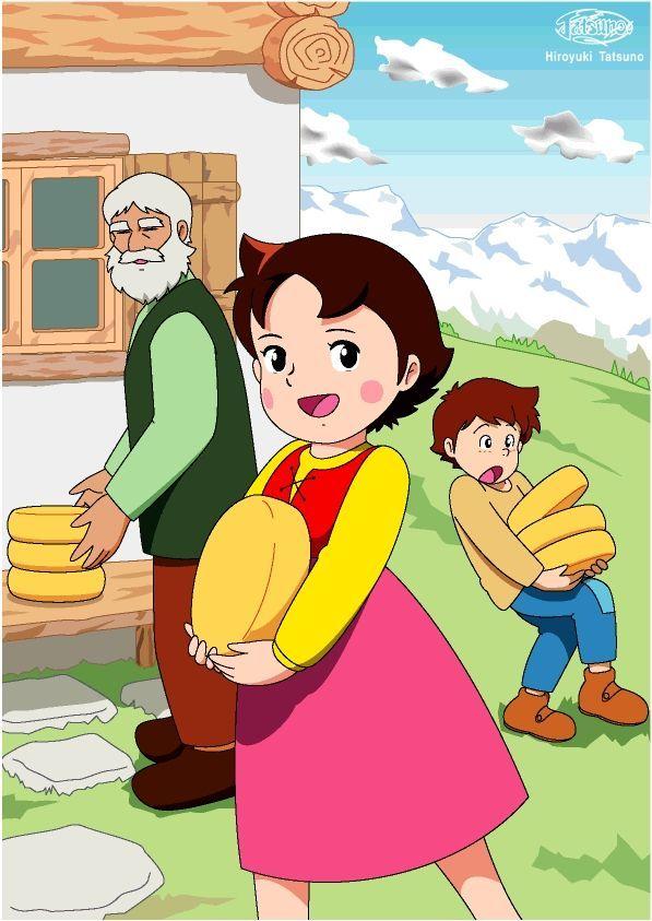 Heidi anime nippon animation visual 5