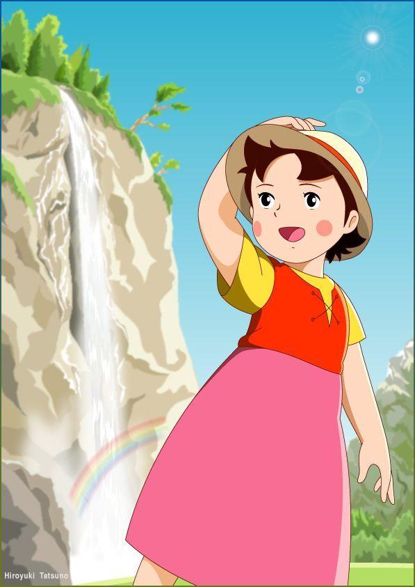 Heidi anime nippon animation visual 6
