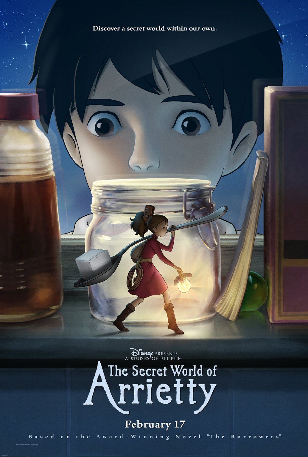 The secret world of arrietty affiche us