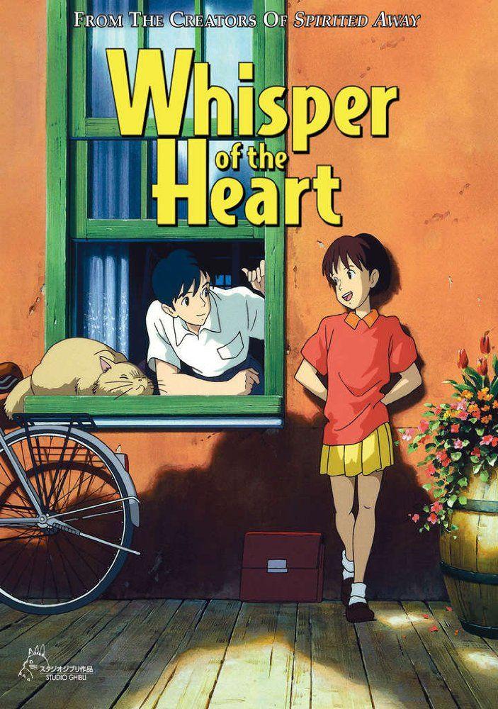 Whisper of the heart affiche en