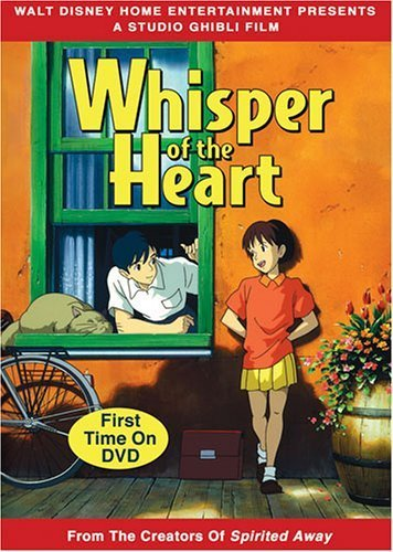 Whisper of the heart jaquette dvd usa