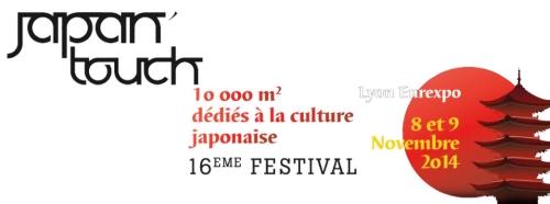 Japan Touch 16 du 8 au 9 novembre 2014 à Lyon Eurexpo