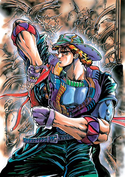 Jojo phantom blood visual 2