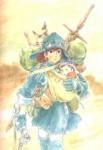 Nausicaa manga visual 16