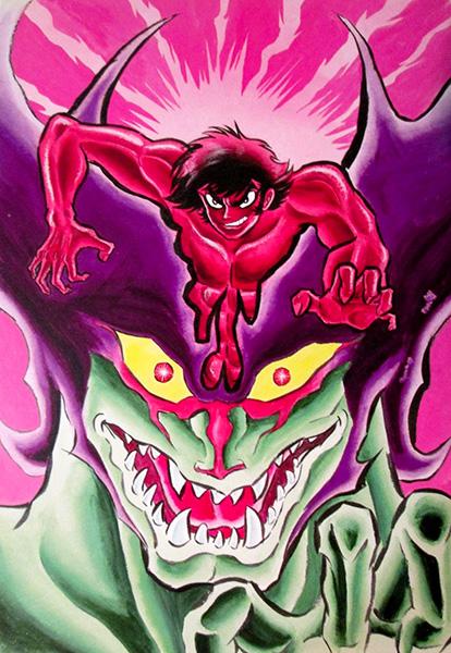 Devilman visual 2