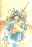 Nausicaa manga visual 16