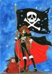 Capitaine Albator Le Pirate De L Espace Manga S 233 Rie border=