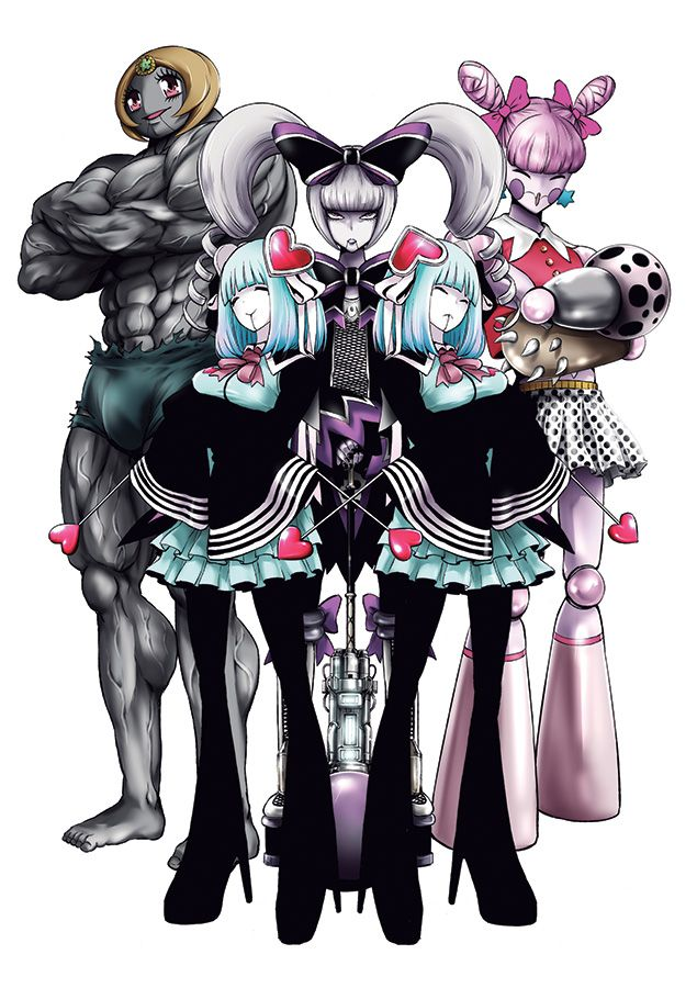 Magical girl of the end visual 1