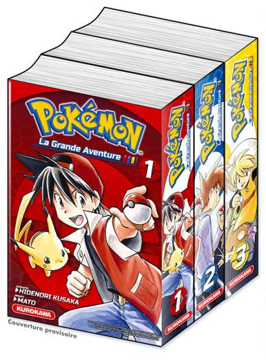 Pokemon la grande aventure triple