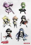 Op ete 20017 kurokawa stickers red eyes sword 3