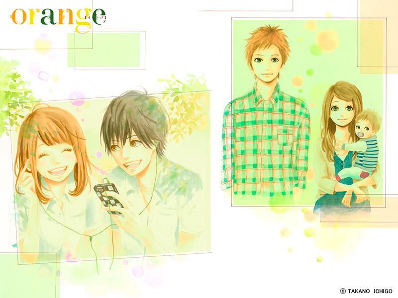 Orange ichigo takano visual 1