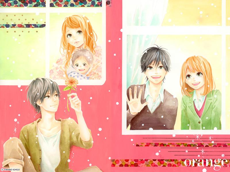 Orange ichigo takano visual 2