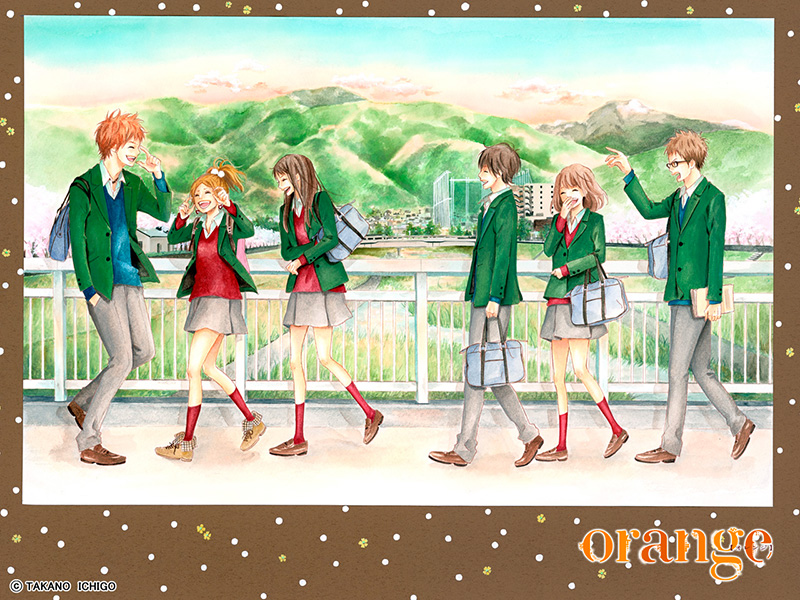 Orange ichigo takano visual 3