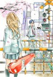 Your lie in april manga visual 1