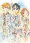 Your lie in april manga visual 3