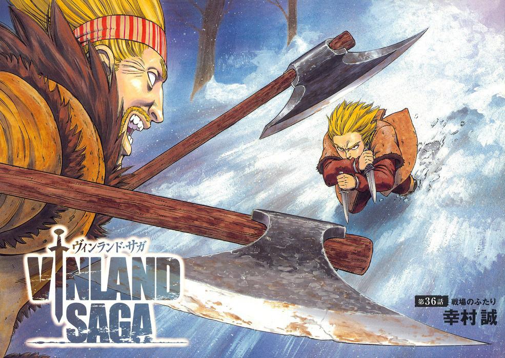Vinland saga visual 2