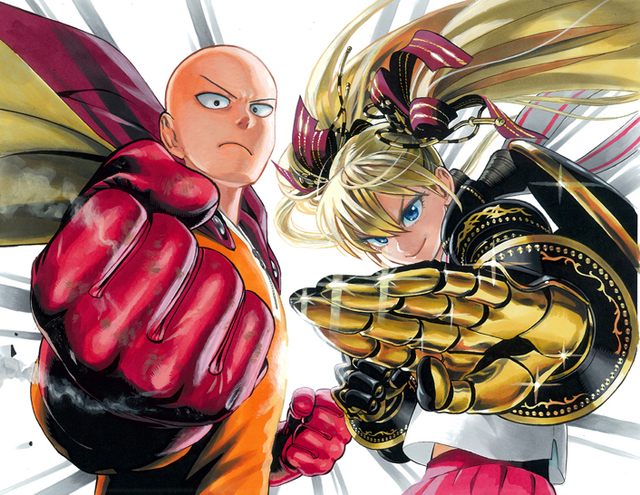 One punch man visual 2