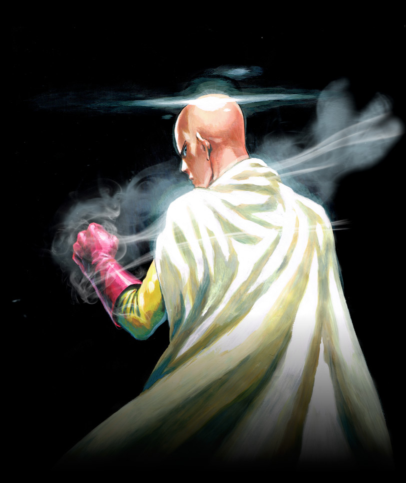 One punch man visual 4