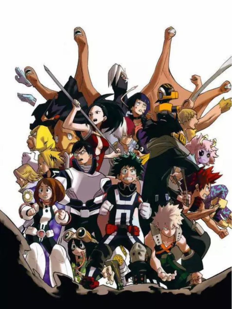 My hero academia visual 2