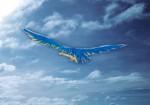 Oiseau bleu visual 4