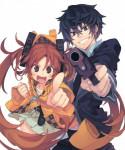 Black bullet manga visual 2