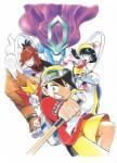 Pokemon or argent manga visual 1