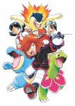 Pokemon or argent manga visual 3