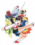 Pokemon or argent manga visual 6
