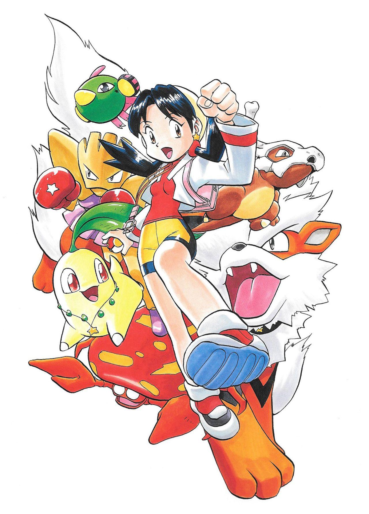 Pokemon or argent manga visual 4