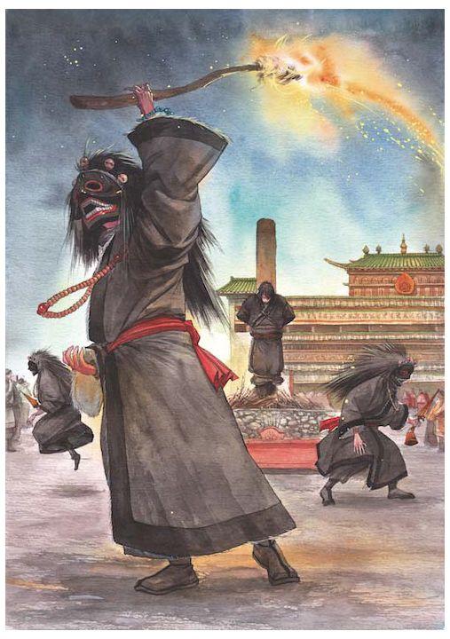 6e dalai lama visual 2