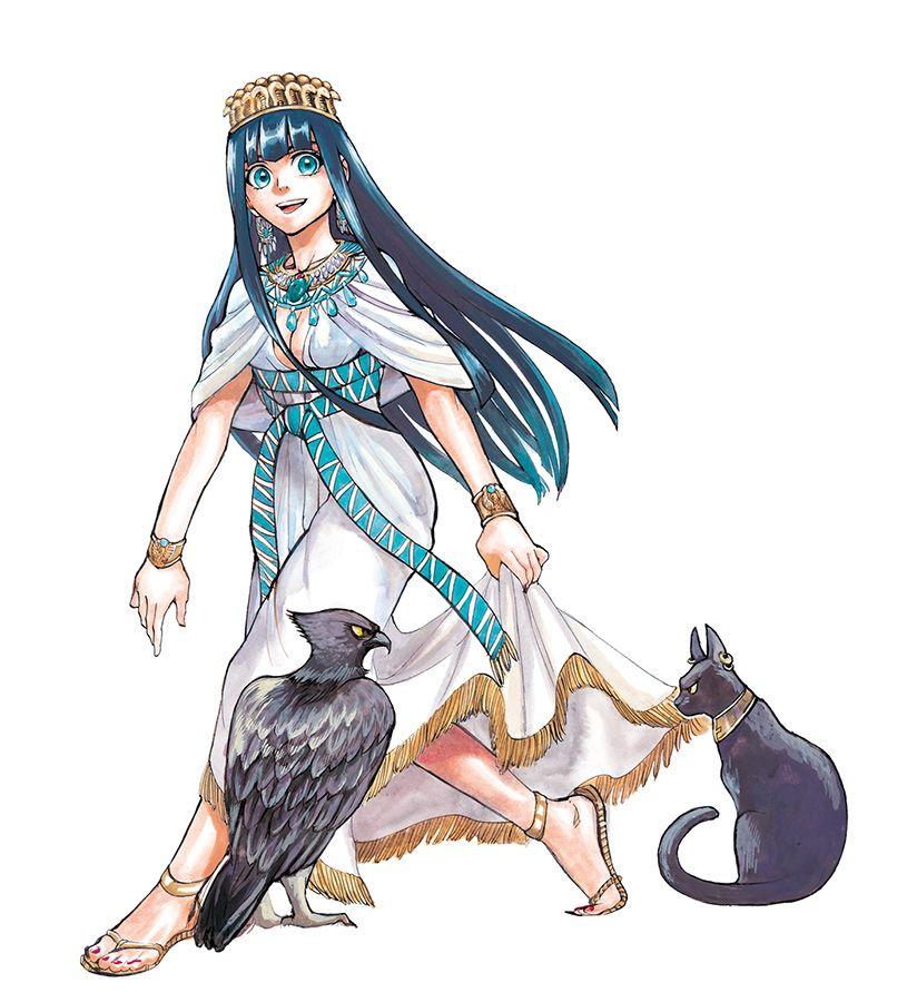 [Manga] Reine d'Egypte, Tome 1 Reine-d-egypte-illust-3