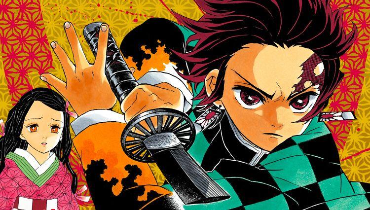 Demon slayer manga visual 1