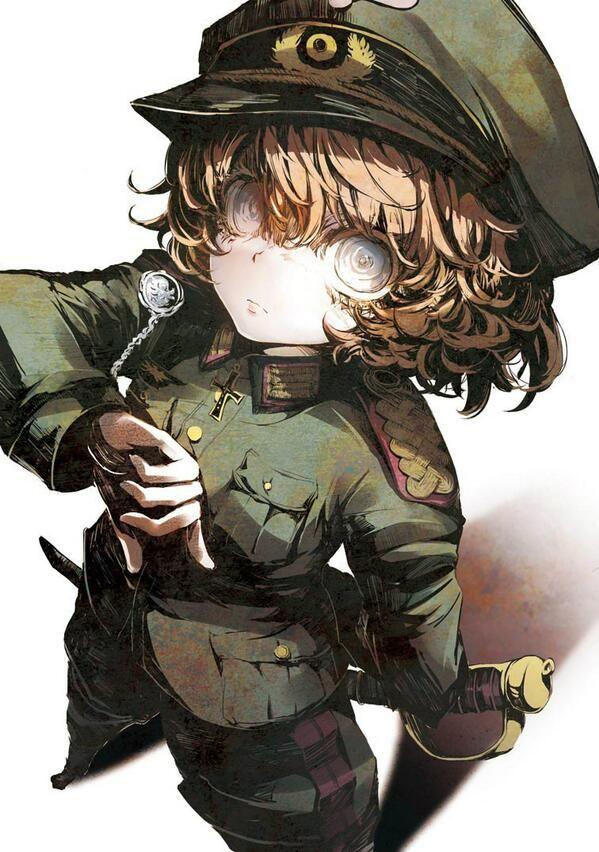 Tanya the evil manga visual 1