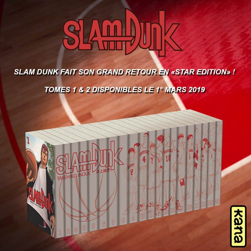 Slam dunk star edition frise