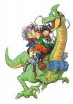 Dragon ball extra yamcha visual 1
