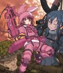 Sword Art Online Alternative Gun gale online visual 1