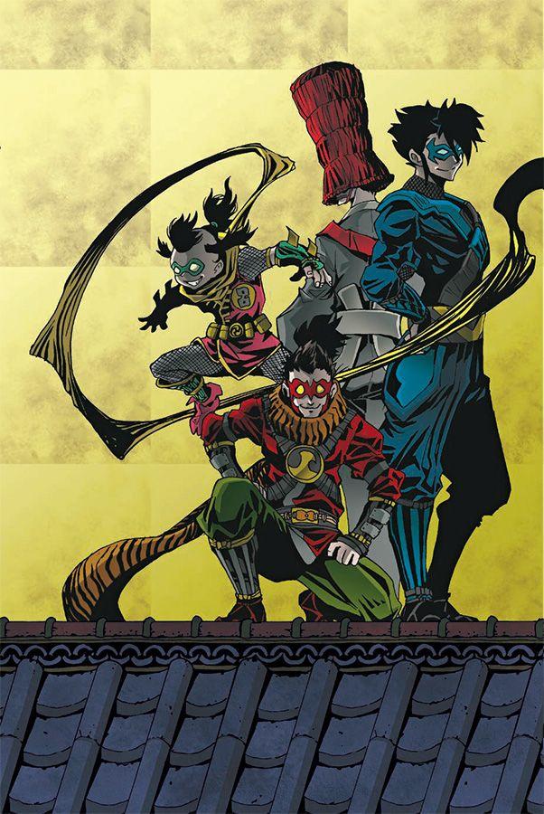 Batman ninja visual 2