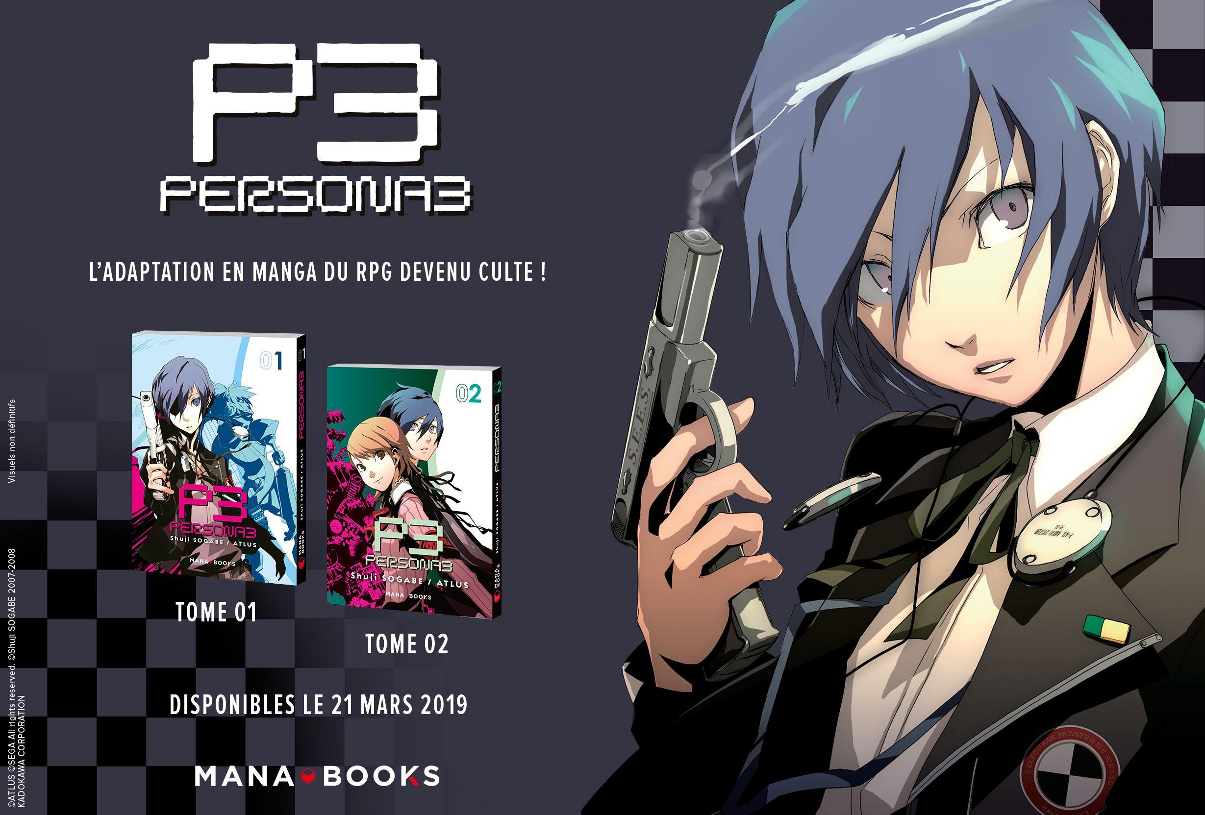 Persona3 manga annonce