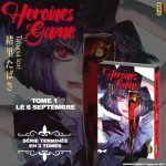 Heroines games annonce visual