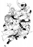 Legendaires saga manga annonce