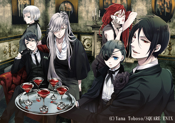 Black butler visual 1