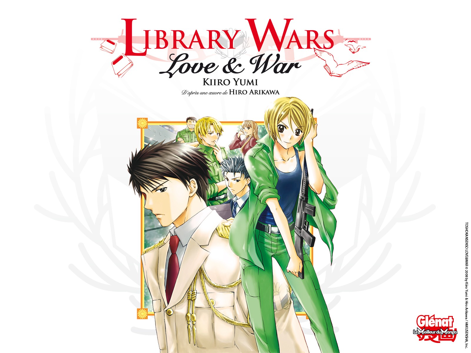 Library wars fond ecran1 1600x1200