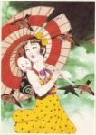 Jeune fille camelia illust 1