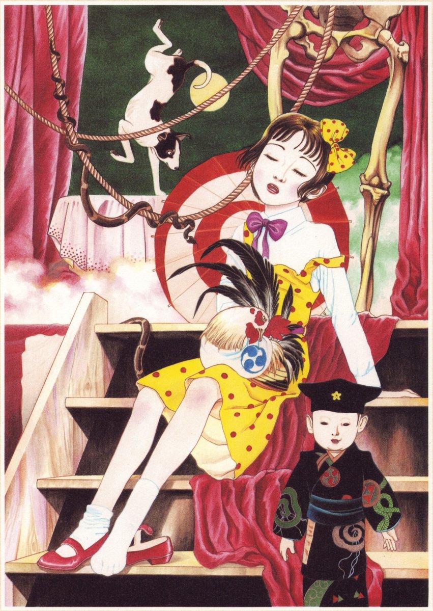 Jeune fille camelia illust 2