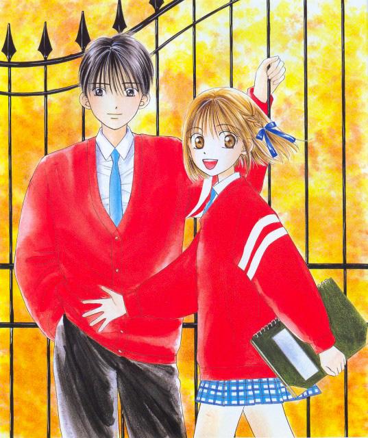 Kare kano manga visual 2