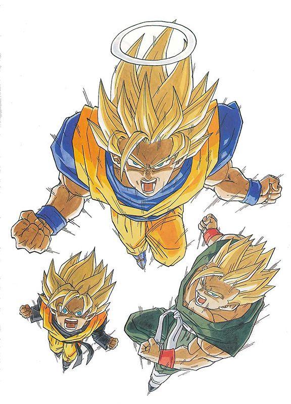 Dragon ball illust 8